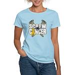 Screw Neuroblastoma Cancer Women's Light T-Shirt