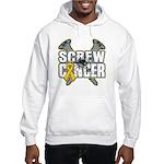Screw Neuroblastoma Cancer Hooded Sweatshirt