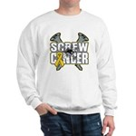 Screw Neuroblastoma Cancer Sweatshirt