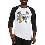Screw Neuroblastoma Cancer Baseball Jersey