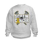 Screw Neuroblastoma Cancer Kids Sweatshirt