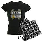 Screw Neuroblastoma Cancer Women's Dark Pajamas