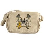 Screw Neuroblastoma Cancer Messenger Bag