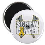 Screw Neuroblastoma Cancer Magnet