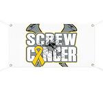 Screw Neuroblastoma Cancer Banner