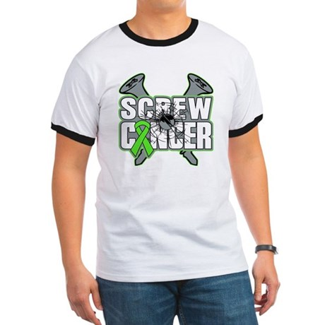 Screw Non-Hodgkins Cancer Ringer T