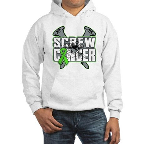 Screw Non-Hodgkins Cancer Hooded Sweatshirt