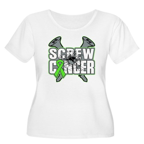 Screw Non-Hodgkins Cancer Women's Plus Size Scoop