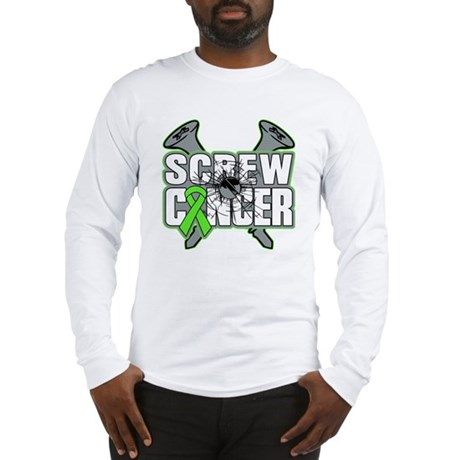 Screw Non-Hodgkins Cancer Long Sleeve T-Shirt