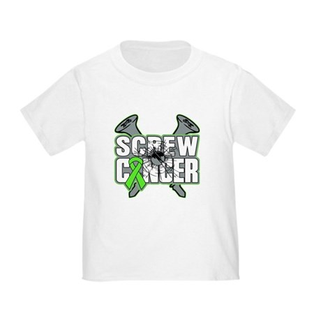 Screw Non-Hodgkins Cancer Toddler T-Shirt