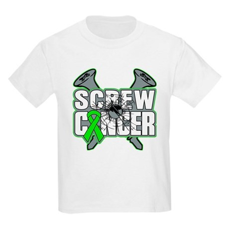 Screw Non-Hodgkins Cancer Kids Light T-Shirt