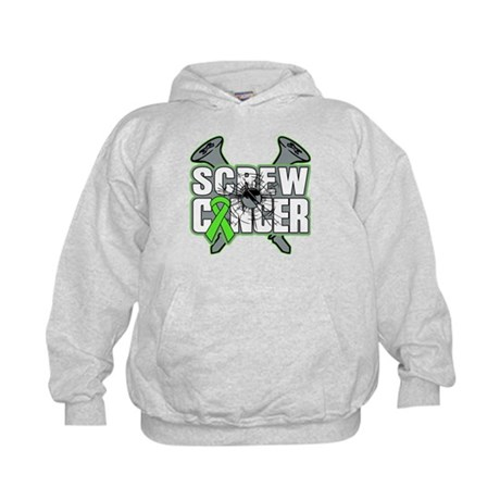 Screw Non-Hodgkins Cancer Kids Hoodie