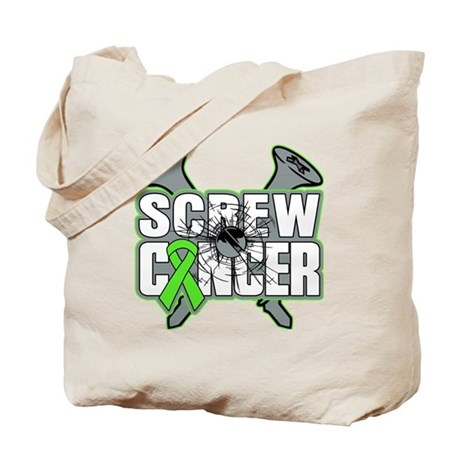 Screw Non-Hodgkins Cancer Tote Bag