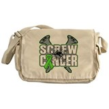 Screw Non-Hodgkins Cancer Messenger Bag