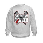 Screw Oral Cancer Kids Sweatshirt