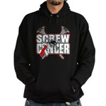 Screw Oral Cancer Hoodie (dark)