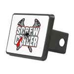 Screw Oral Cancer Rectangular Hitch Cover