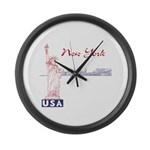 New York Large Wall Clock