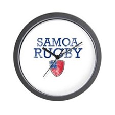 Samoa Rugby designs Wall Clock