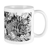 Woman and Vegetables Mug
