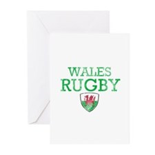 Wales Rugby designs Greeting Cards (Pk of 10)