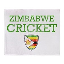 Zimbabwe Cricket designs Throw Blanket