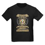 Indian gold oval 1 Organic Toddler T-Shirt (dark)