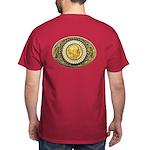 Indian gold oval 1 Dark T-Shirt