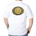 Indian gold oval 1 Golf Shirt
