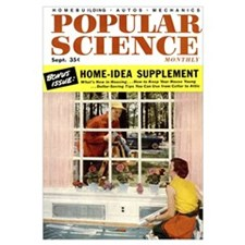 Popular Science Cover, September 1954