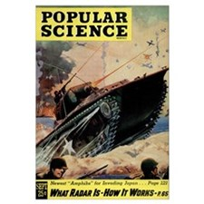 Popular Science Cover, September 1945