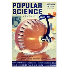 Popular Science Cover, September 1933