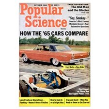 Popular Science Cover, October 1964