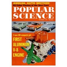 Popular Science Cover, October 1960