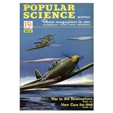 Popular Science Cover, November 1941