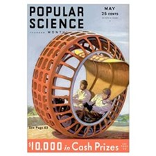 Popular Science Cover, May 1932