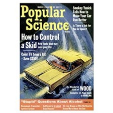 Popular Science Cover, March 1964