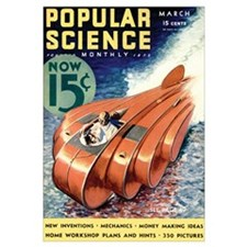 Popular Science Cover, March 1933