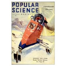 Popular Science Cover, March 1932