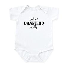 Daddys Drafting Buddy Baby Bodysuit