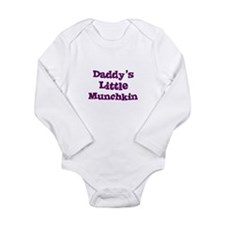 Cute Munchkin Long Sleeve Infant Bodysuit