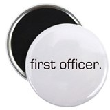 "First Officer 2.25"" Magnet (10 pack)"