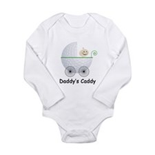 Cute Daddy's caddy Long Sleeve Infant Bodysuit