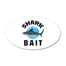 Shark Bait 38.5 x 24.5 Oval Wall Peel