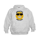 Braces Are Cool / Sunglasses Hoodie