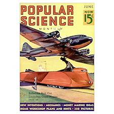 Popular Science Cover, June 1937