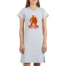 Soviet Red Army Warrior Women's Nightshirt