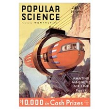 Popular Science Cover, July 1932