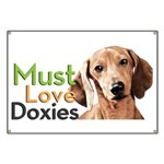 Must Love Doxies Banner