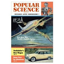 Popular Science Cover, December 1953